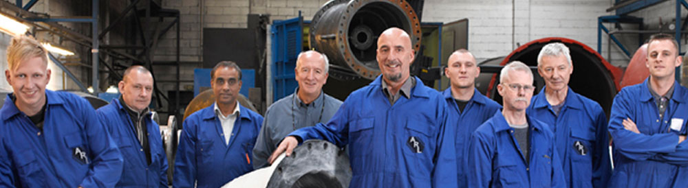 ARL Directors and rubber liners in our Gloucester factory